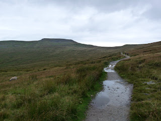 Ingleborough ahead