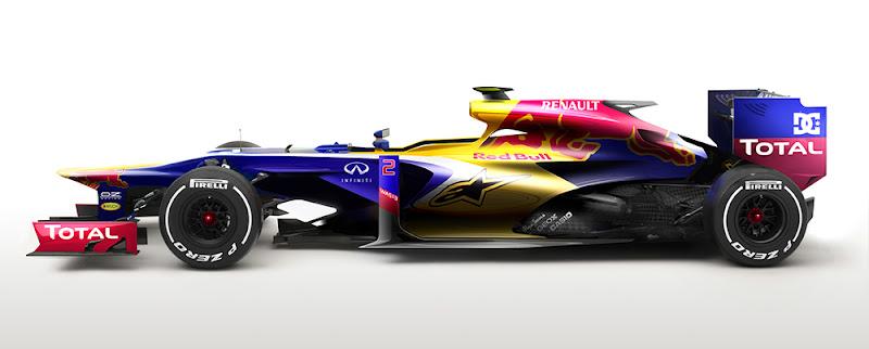 футуристичный дизайн болида Red Bull от Klaud Wasiak