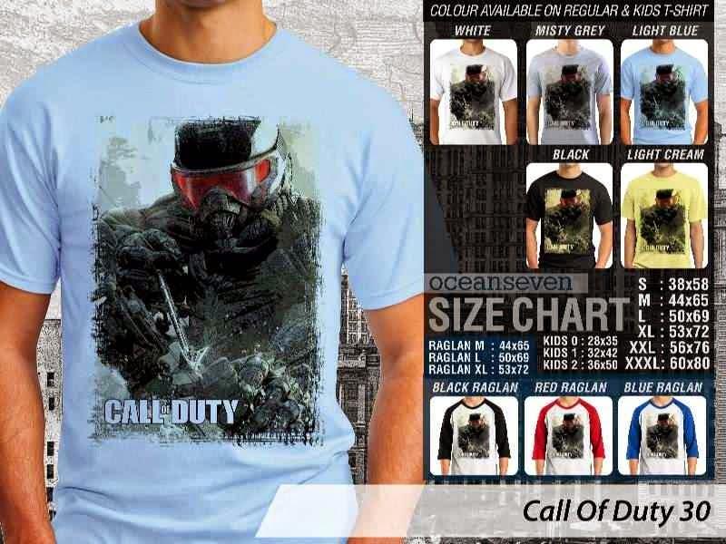 KAOS cod Call Of Duty 30 Game Series distro ocean seven
