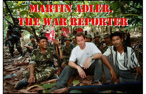 Martin Adler. Reporter wojenny / Martin Adler. The War Reporter (2010) PL.TVRip.XviD / Lektor PL