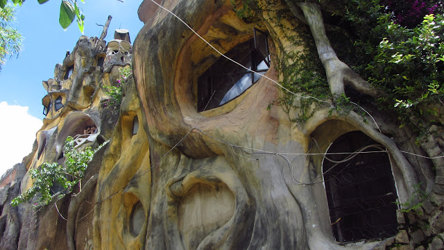 The Gaudi-esque Crazy House.