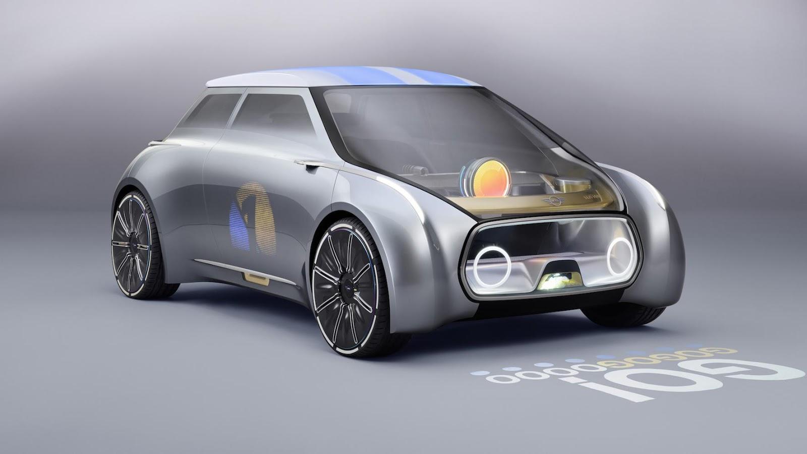 Mini Concept Vision 100 vẫn giữ nguyên nét đặc sắc trong thiết kế