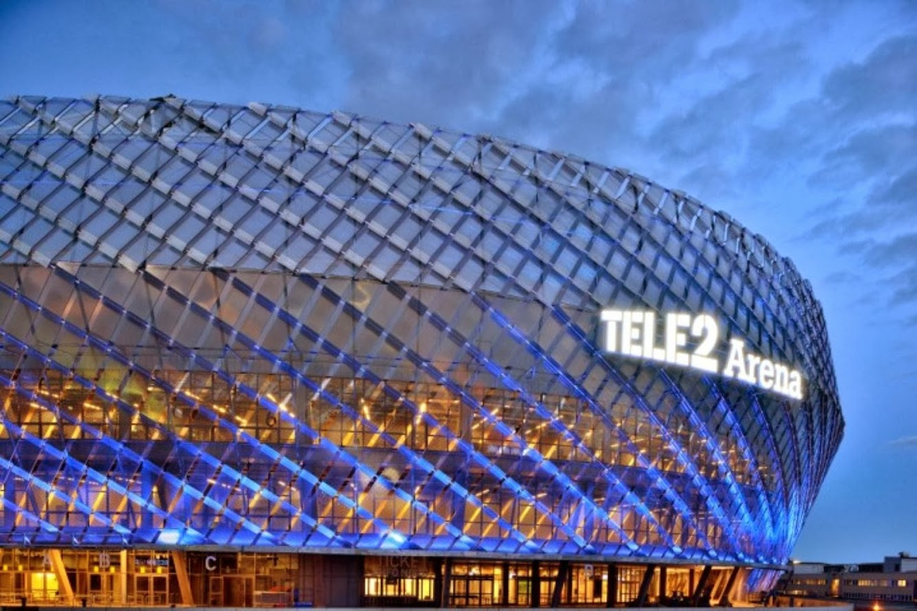 Stoccolma, Svezia: TELE2 Arena by White Arkitekter