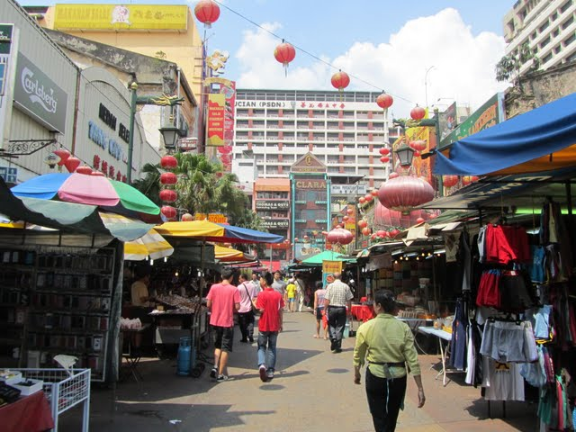 Kuala Lumpur China town