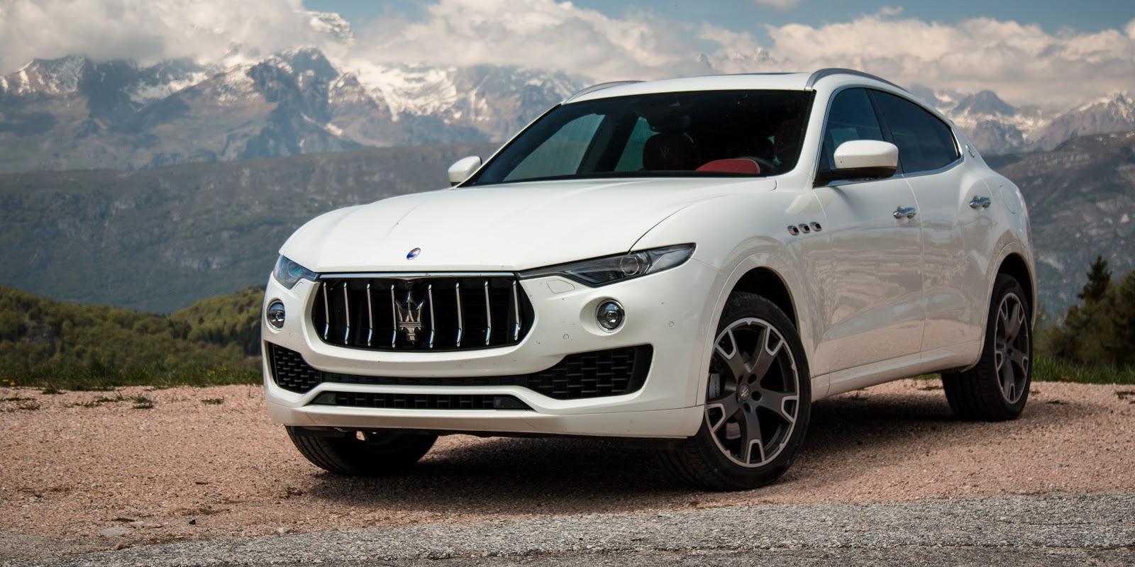 Đầu xe đậm chất Maserati, tinh tế và mang nhiều dấu ấn biển cả