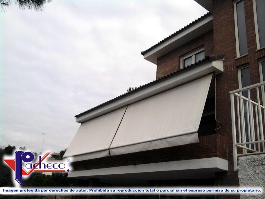 Sistemas de toldos para balcones en pego alicante for Brazos para toldos balcon