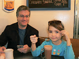 Dad And Meredith, Breakfast At Dottie's True Blue Café, San Francisco