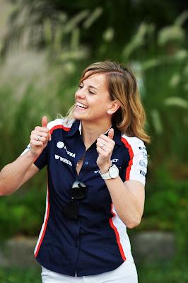 Сьюзи Вольф на Гран-при Бахрейна 2013