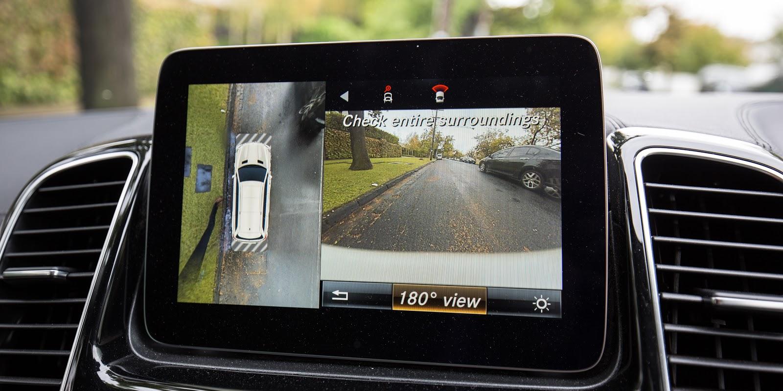Camera quan sát 180 độ xung quanh xe