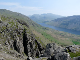 Pike Crag and Bull Crag from Buckbarrow