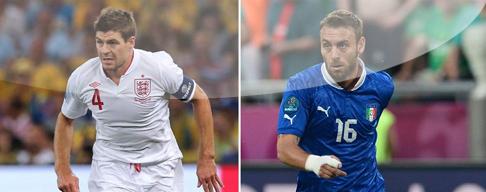 Inglaterra vs. Italia en VIVO - 24 de Junio - Euro 2012