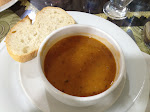 Lunch from Ankara to Cappadocia - spicy lentil soup