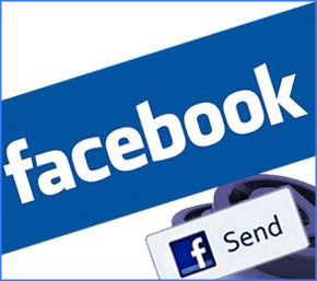 facebook send button to blogger