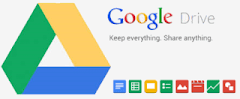 Logo layanan cloud storage Google Drive