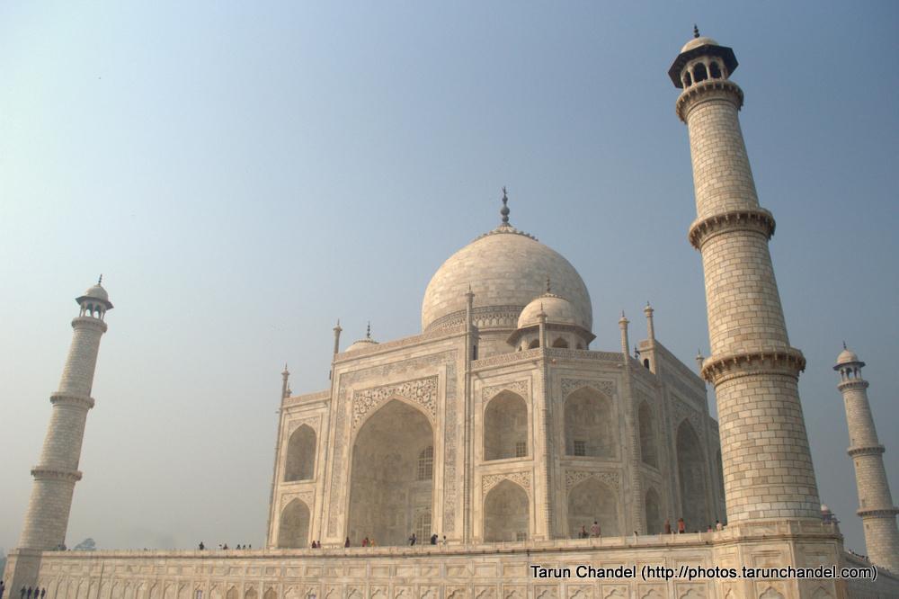 Agra Taj Mahal Sunlight, Tarun Chandel Photoblog