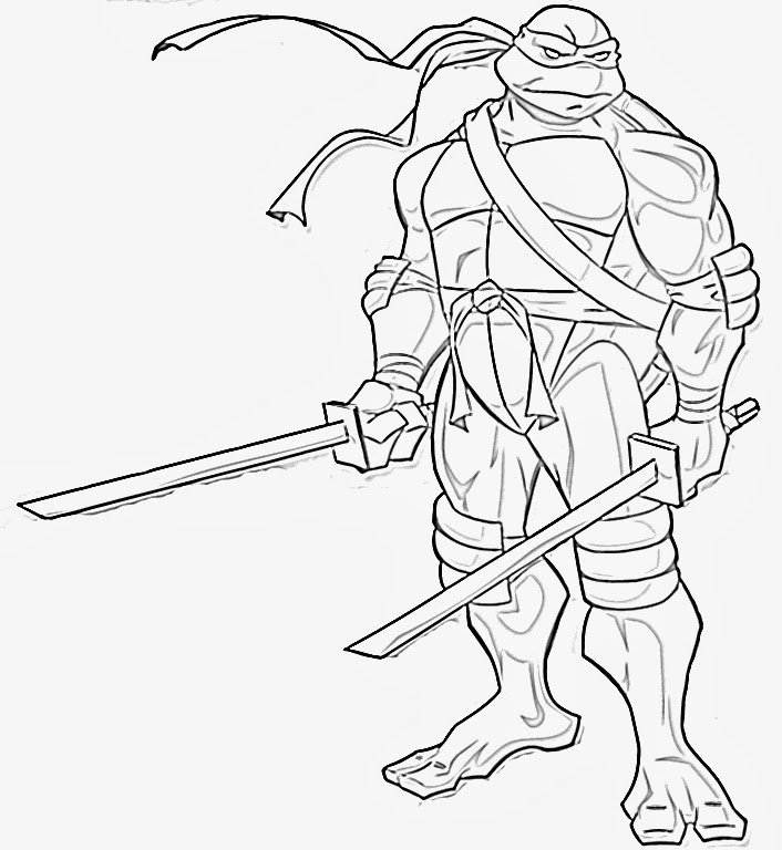 coloring pages of turtles - Teenage Mutant Ninja Turtles Coloring Pages