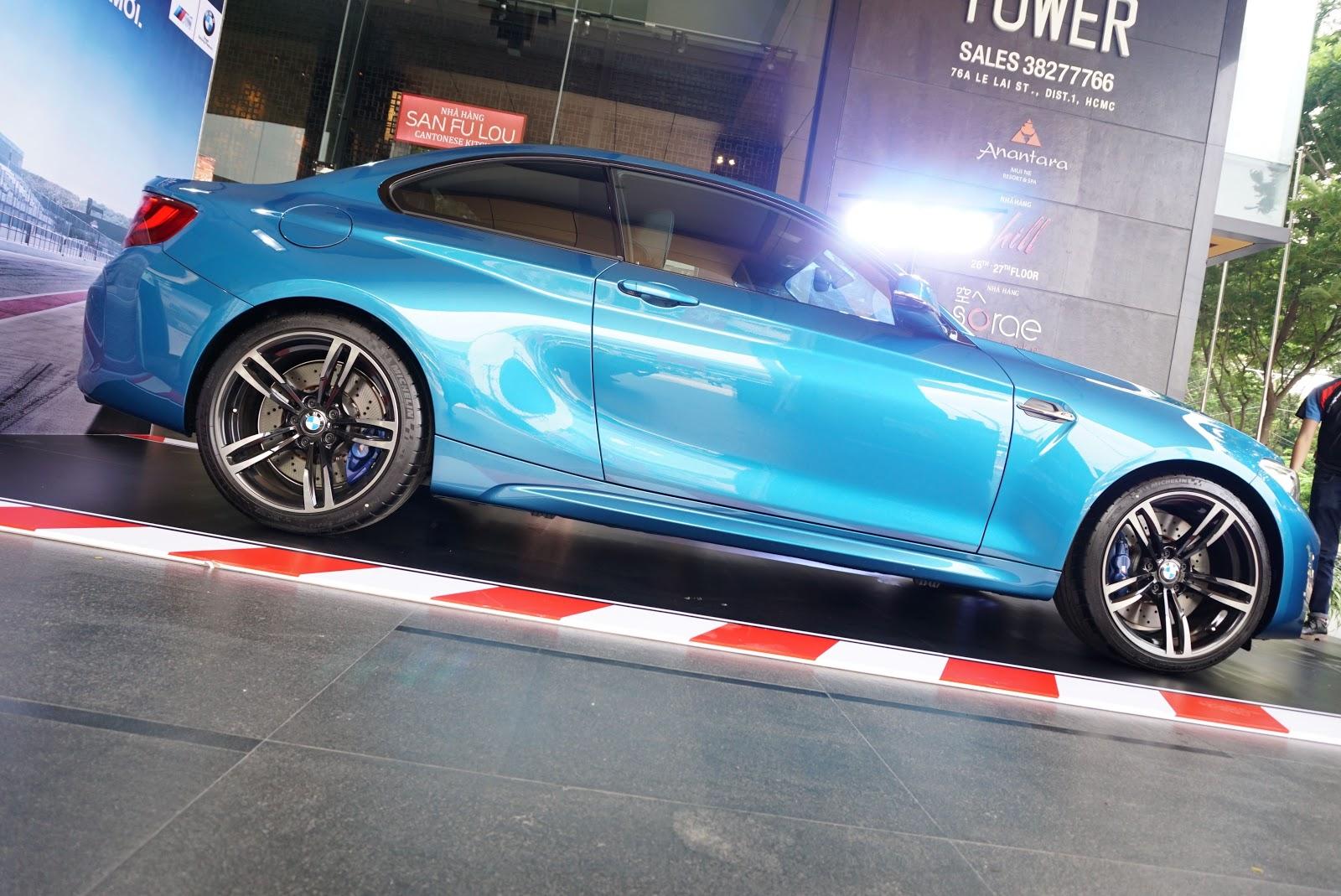 BMW M2 Coupe là một chiếc xe cực kỳ đa năng khi đi trên đường đô thị