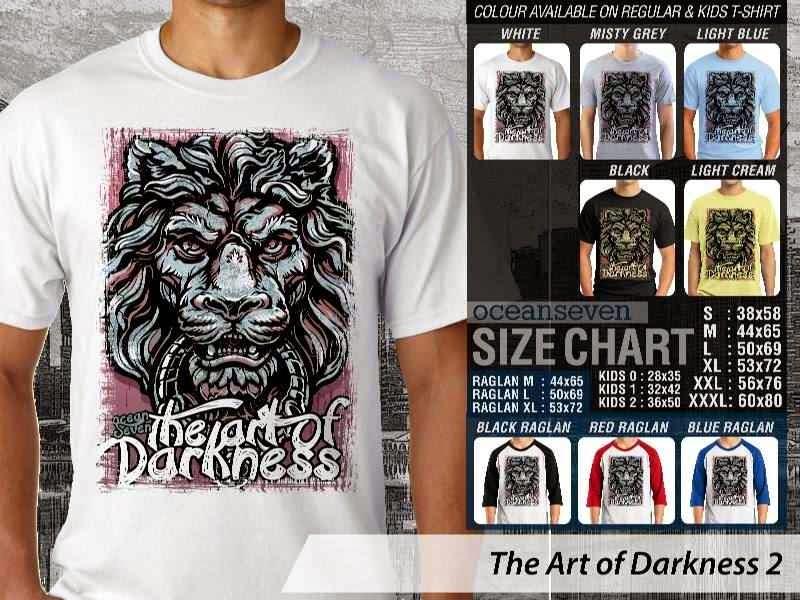 KAOS keren The Art of Darkness 2 distro ocean seven