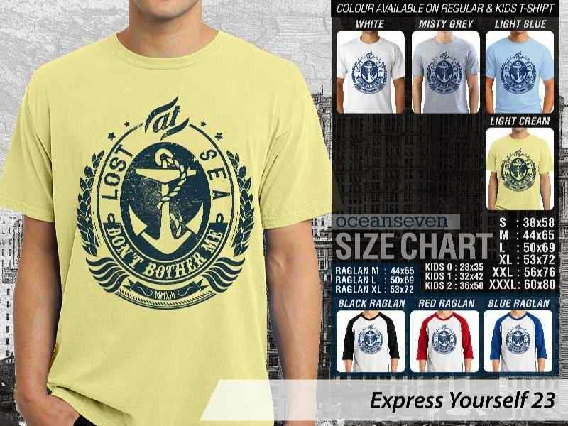 KAOS lost at sea. dont bother me Express Yourself 23 distro ocean seven