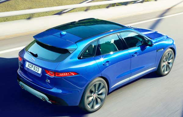 2016 Jaguar F-Pace Big Plan, Stylish Crossover