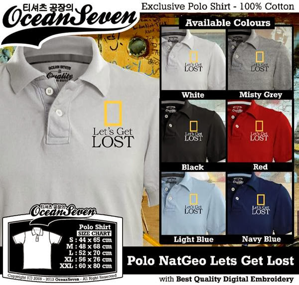 POLO National Geographic Natgeo Lets Get Lost distro ocean seven
