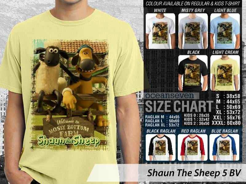 Kaos Movie Shaun The Sheep 5 distro ocean seven