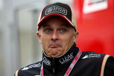 удилвленный Хейкки Ковалайнен на Гран-при США 2013
