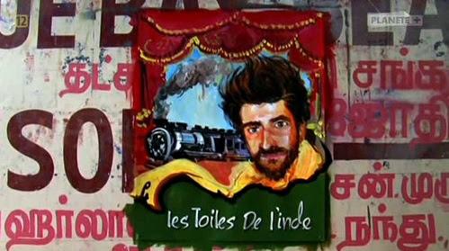 Objazdowe kina w Indiach / Les Toiles de l'Inde (2009) PL.TVRip.XviD / Lektor PL