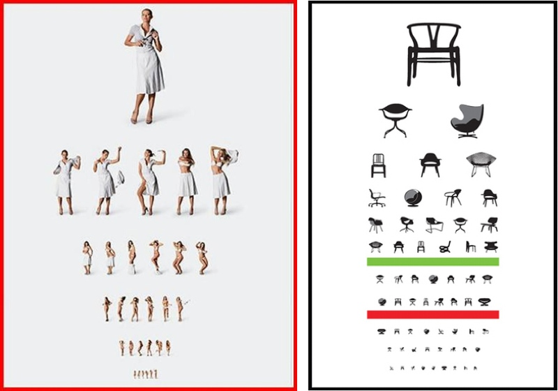 Dark Roasted Blend Strange Eye Exam Charts