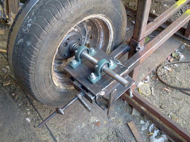 Как сделать шкив из колеса