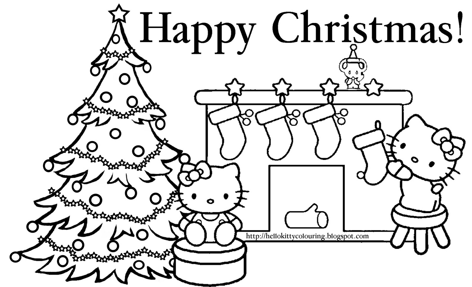 merry christmas coloring pages print - Printable Christmas Coloring Pages Parents