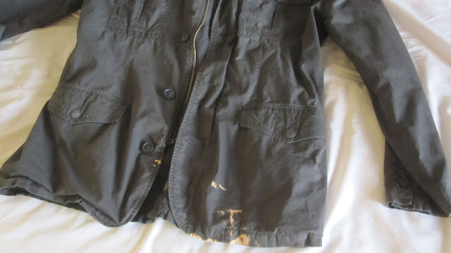 Bleach Stain, Jacket Front