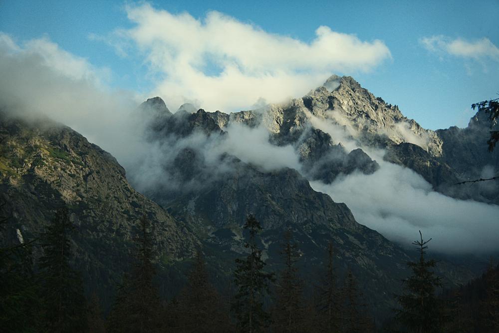 Gerlach nad Doliną Białej Wody