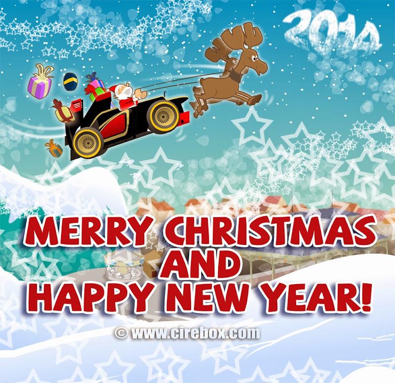 Счастливого Рождества и Нового Года от Cirebox