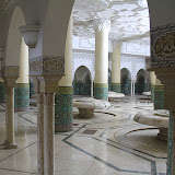The Washing Room At The Hassan II Mosque - Casablanca, Morocco