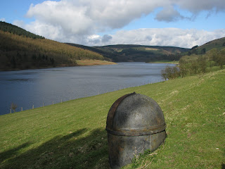 Ladybower Reservoir with air vent