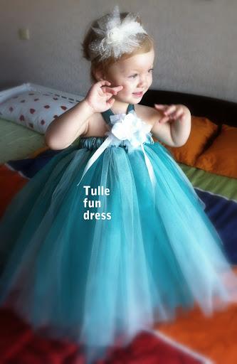 Сшить платье для девочки пышное своими руками