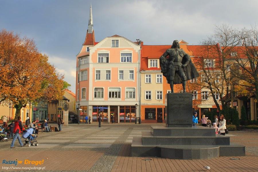 Wejherowo - Pomnik Jakuba Wejhera na rynku