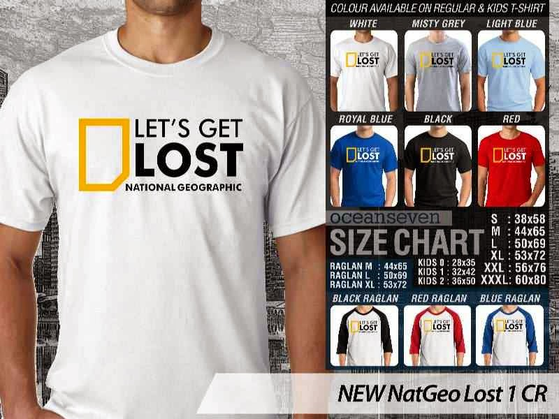 Kaos National Geographic NEW Nat Geo Lost 1 distro ocean seven