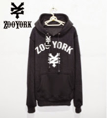 Jaket Distro Zoo York 03 Jumper Full Hitam