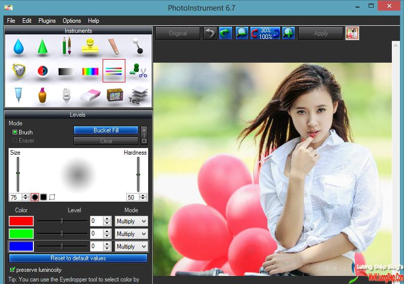 Download PhotoInstrument 6.7 Full Crack PhotoInstrument có những tính.