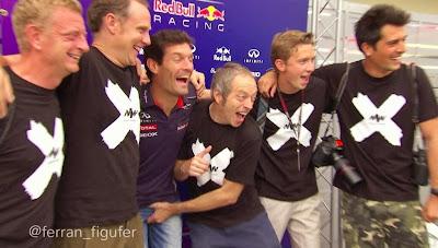 Марку Уэбберу выкручивают яйца на Гран-при Бразилии 2013