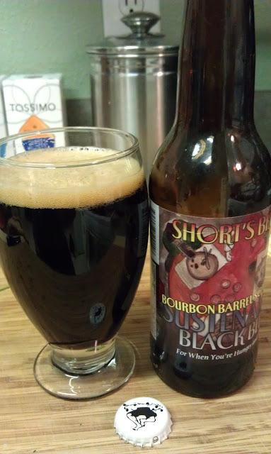 Short's Bourbon Barrel Sustenance Black Bier