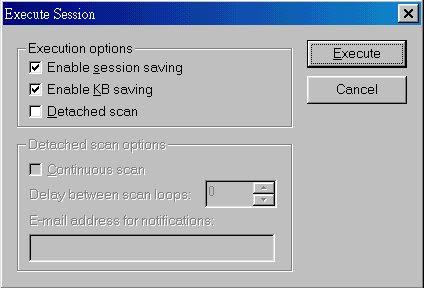 Nessus security scanning