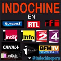 Indochine a la conquista de los medios