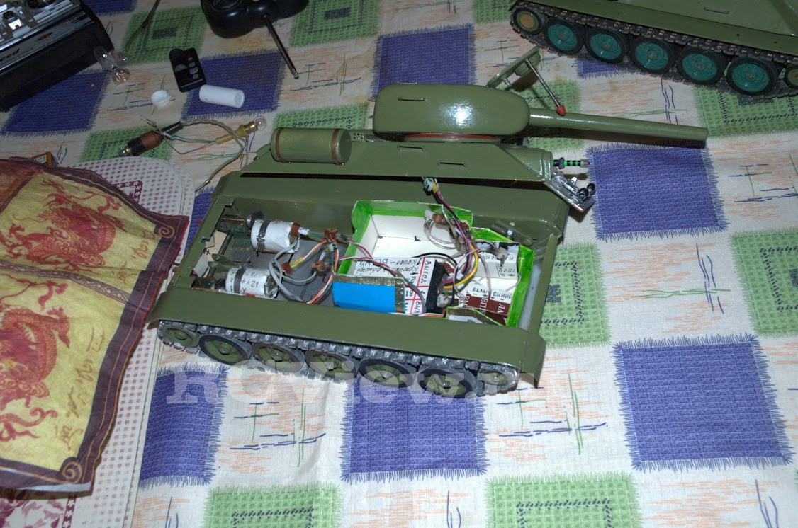Как сделать радиоуправляемого танка