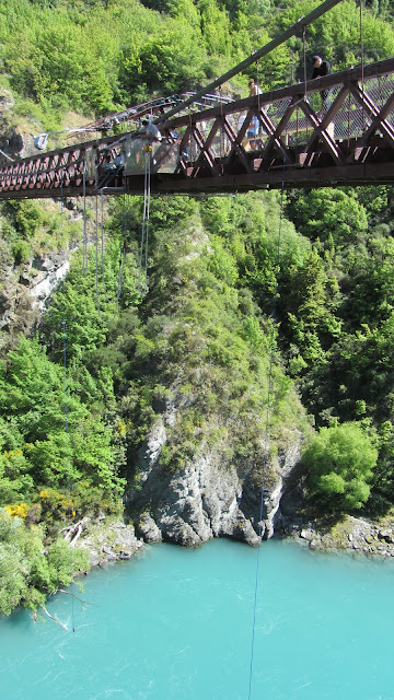 The Kawarau River Bridge - the world's first and longest-running commercial bungee jump.