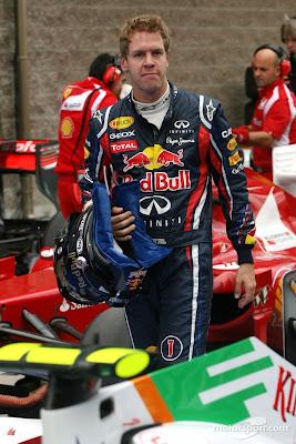Себастьян Феттель изумлен болидом McLaren после квалификации на Гран-при Кореи 2011
