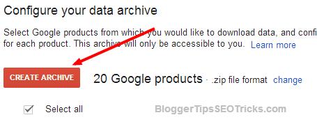 download google plus data to desktop