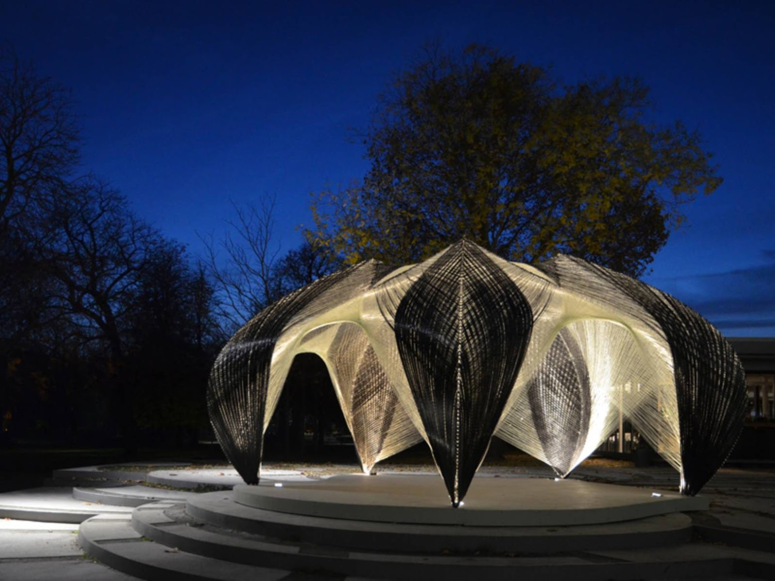 Stoccarda, Germania: [RESEARCH PAVILION 2012 BY ICD/ITKE]